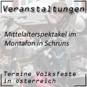 Volksfest Mittelalterspektakel im Montafon Mittelalterfest