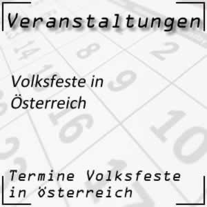 Volksfeste Österreich