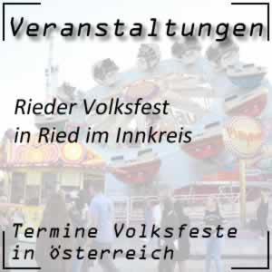 Volksfest Rieder Volksfest