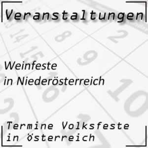 Weinfest Niederösterreich