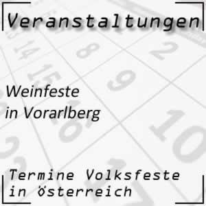 Weinfest Vorarlberg
