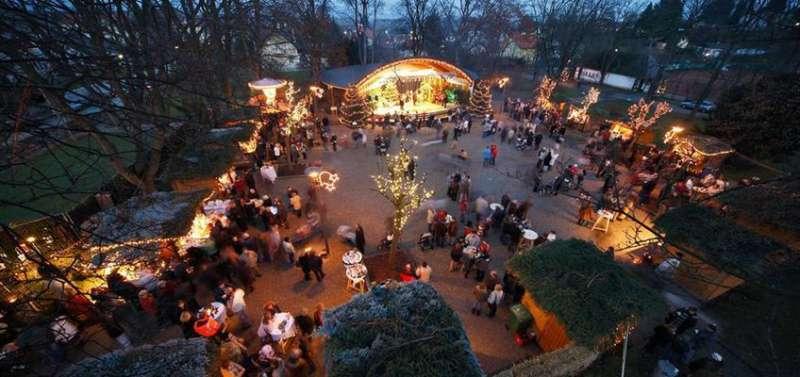 Adventmarkt in Bad Sauerbrunn