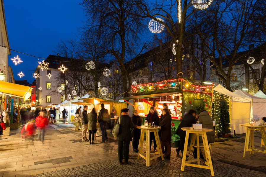 Adventmarkt Graz Färberplatz