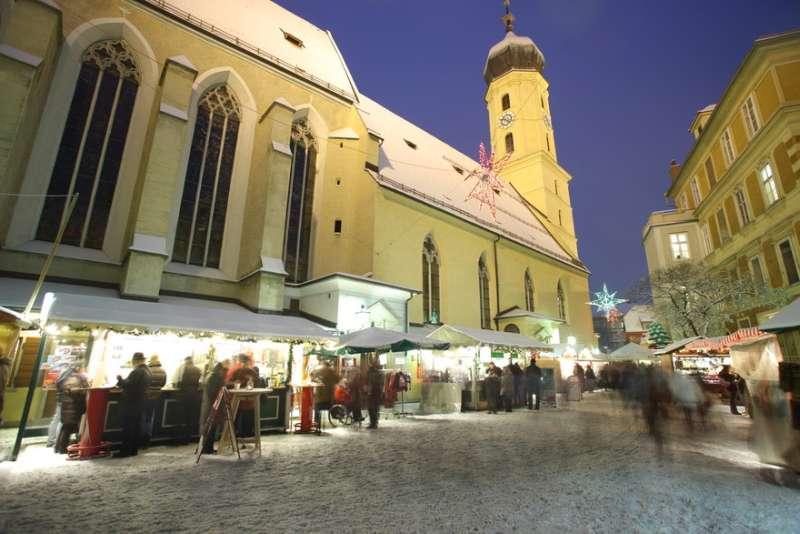 Adventmarkt im Franziskanerviertel in Graz