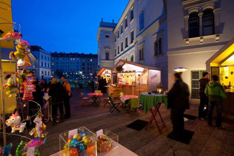 Adventmarkt Graz Joanneumsviertel