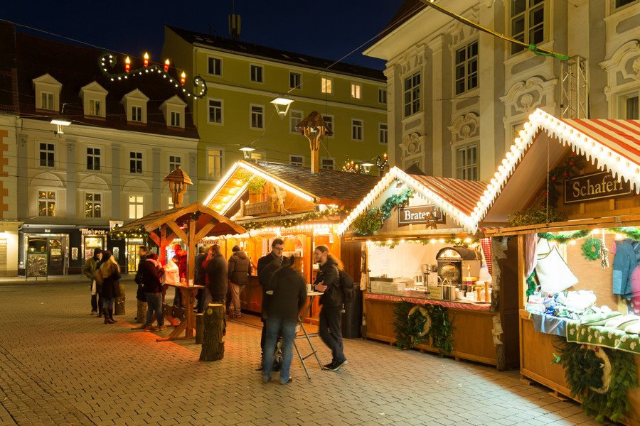 Adventmarkt Graz Südtiroler Platz