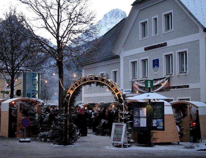 Adventmarkt in Hinterstoder