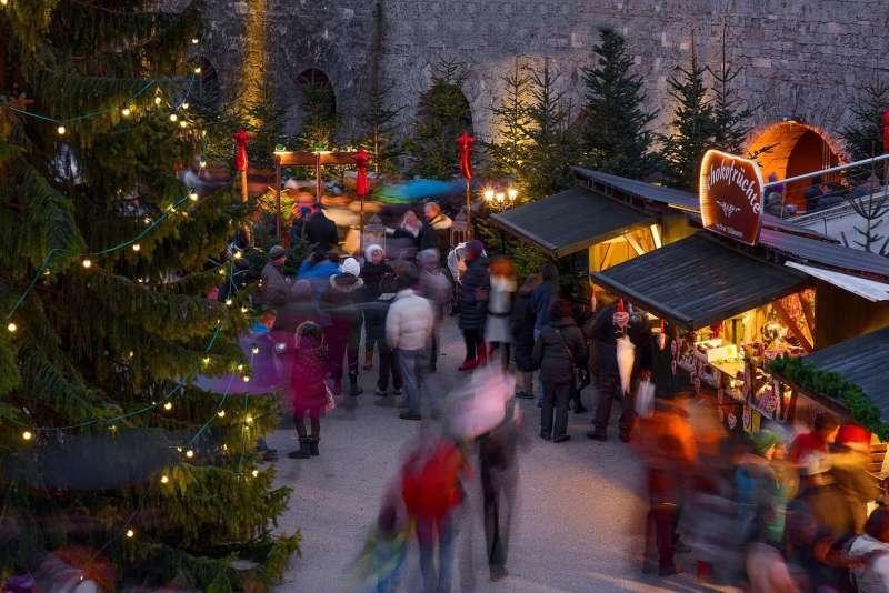 Adventmarkt auf der Festung Kufstein