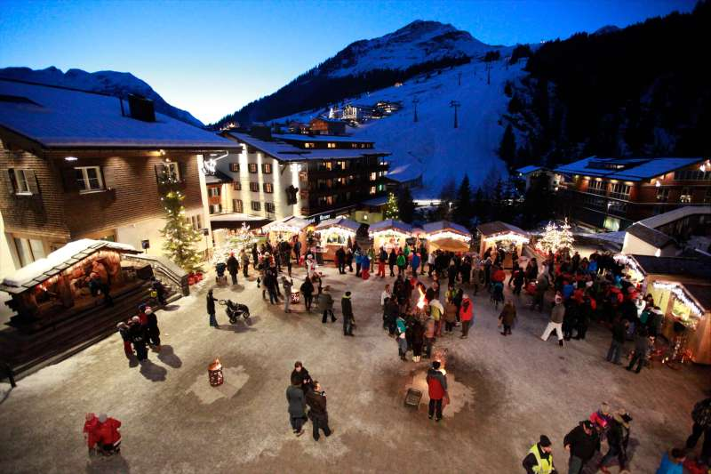 Adventmarkt in Lech am Arlberg