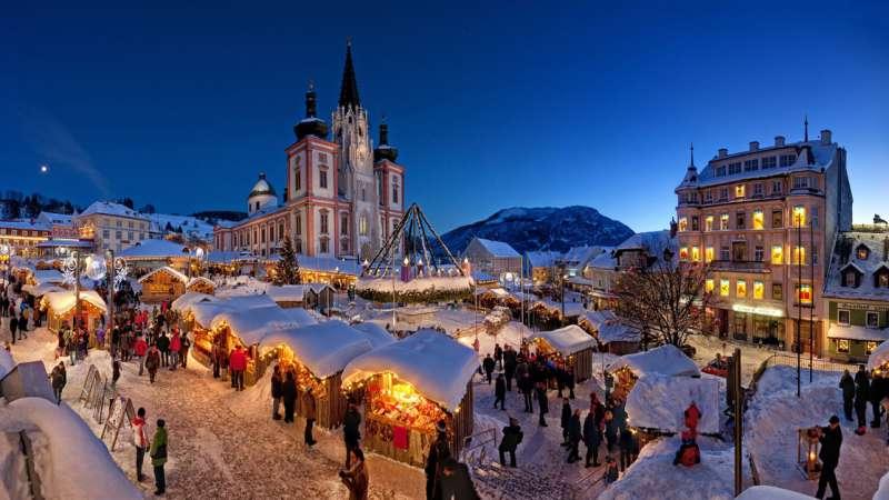 Adventmarkt in Mariazell