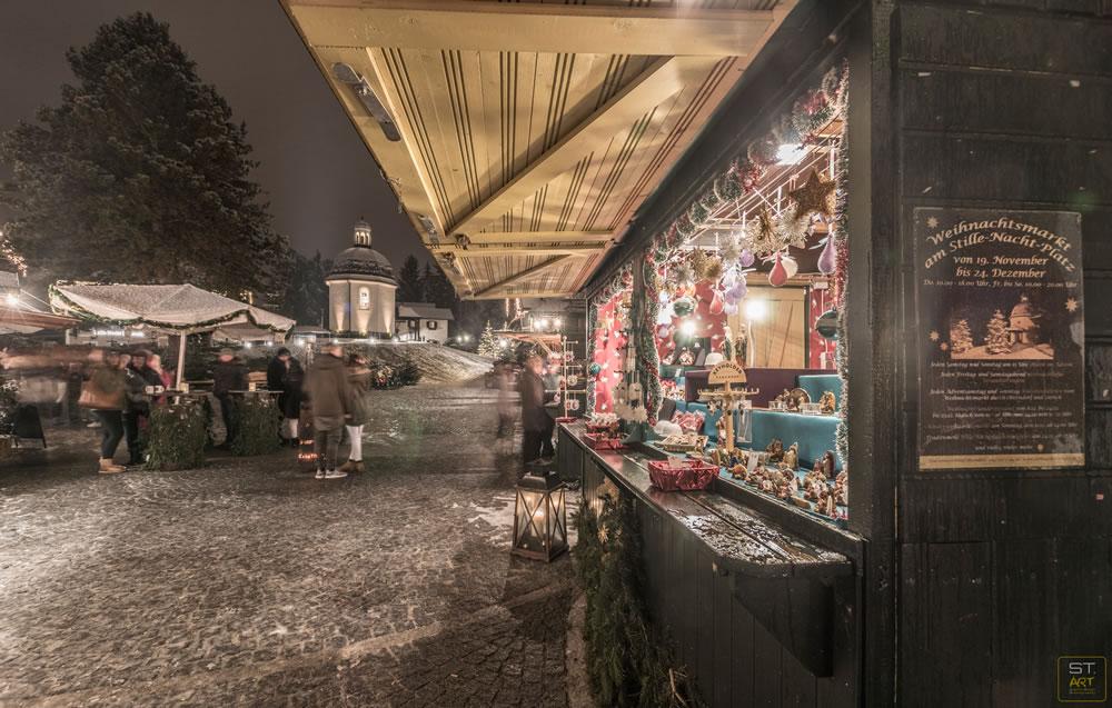 Weihnachtsmarkt Oberndorf in Salzburg