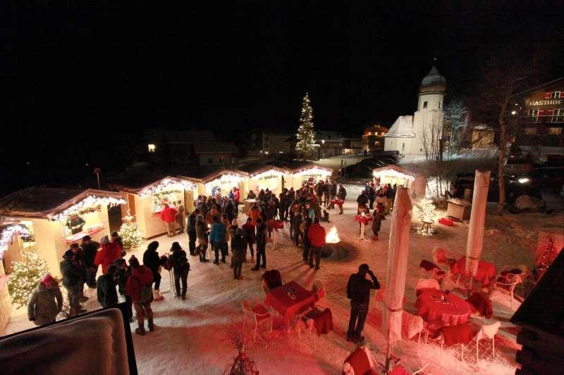 Adventmarkt Zug bei Lech am Arlberg