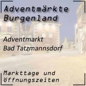 Adventmarkt Bad Tatzmannsdorf