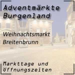 Weihnachtsmarkt Breitenbrunn