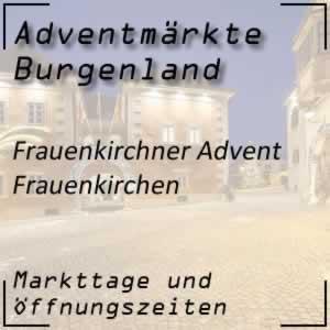 Adventmarkt Frauenkirchen
