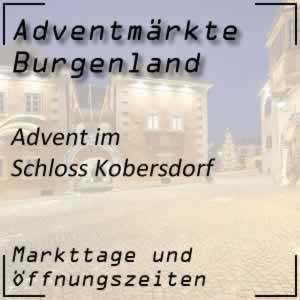 Adventmarkt Schloss Kobersdorf