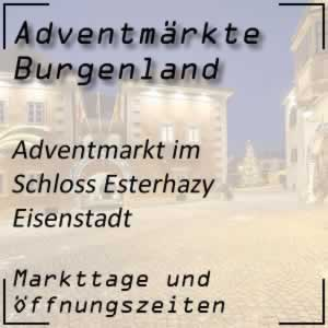Adventmarkt Schloss Esterhazy Eisenstadt