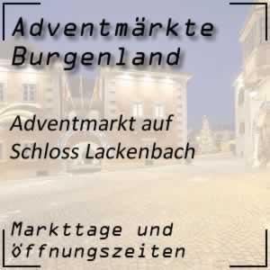 Adventmarkt Schloss Lackenbach