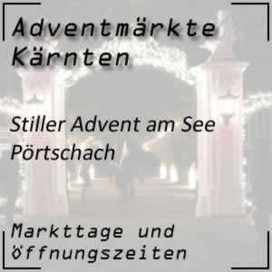 Adventmarkt Pörtschach Stiller Advent am See