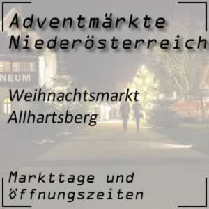 Weihnachtsmarkt Allhartsberg