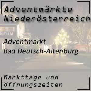 Adventmarkt Bad Deutsch-Altenburg