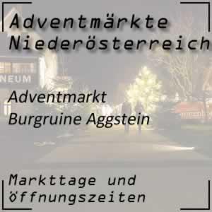 Adventmarkt Burgruine Aggstein
