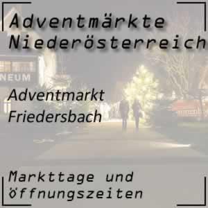 Adventmarkt Friedersbach