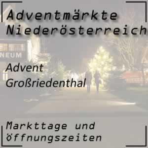 Adventmarkt Grossriedenthal