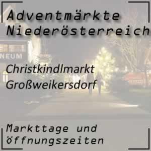 Christkindlmarkt Großweikersdorf