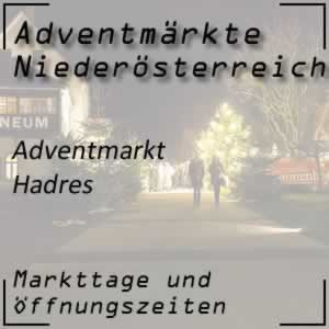 Adventmarkt Hadres Kellergasse