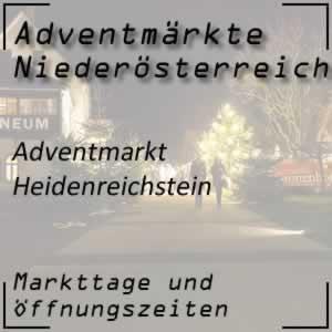 Adventmarkt Heidenreichstein
