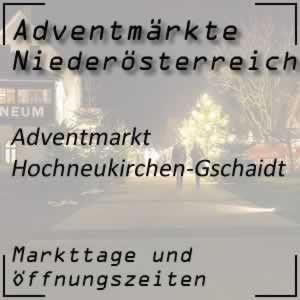 Adventmarkt Hochneukirchen-Gschaidt