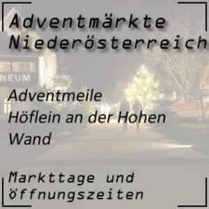 Adventmeile Höflein an der Hohen Wand