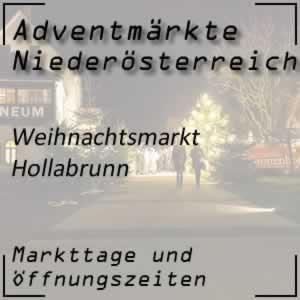 Weihnachtsmarkt Hollabrunn