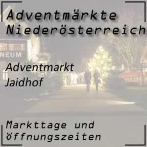 Adventmarkt Jaidhof
