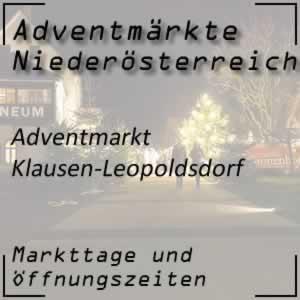 Adventmarkt Klausen-Leopoldsdorf