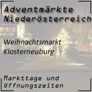 Weihnachtsmarkt Klosterneuburg