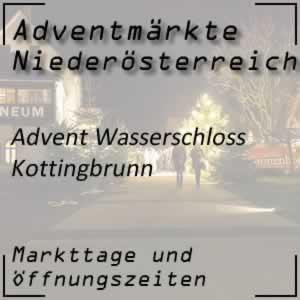 Advent Wasserschloss Kottingbrunn