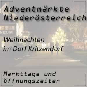 Weihnachten im Dorf Kritzendorf