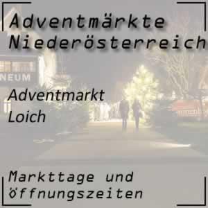 Adventmarkt Loich Mostviertel