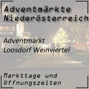 Adventmarkt Loosdorf im Weinviertel