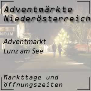 Adventmarkt Lunz am See Amonhaus