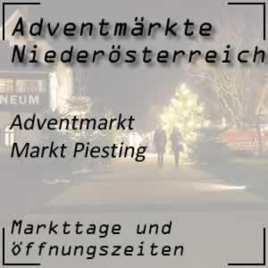 Adventmarkt Markt Piesting