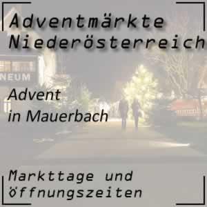 Advent in Mauerbach