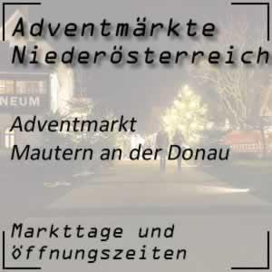 Adventmarkt Mautern/Donau