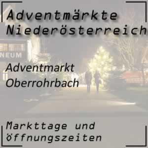 Adventmarkt Oberrohrbach
