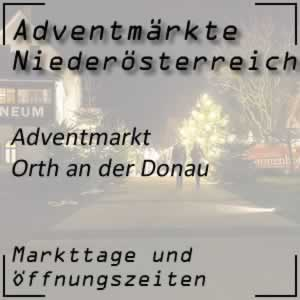 Adventmarkt Orth an der Donau