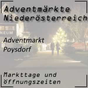 Adventmarkt Poysdorf Kellergasse