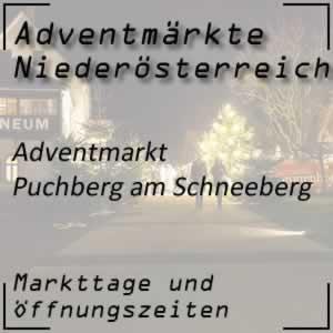 Adventmarkt Puchberg am Schneeberg