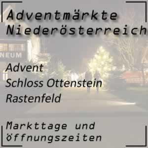 Advent Rastenfeld Schloss Ottenstein